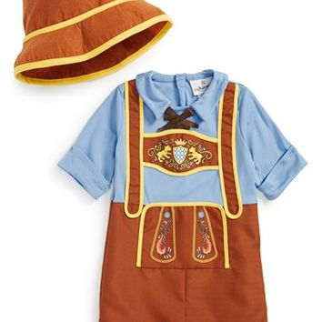 Infant Boy's InCharacter Costumes 'Little Lederhosen' Costume,
