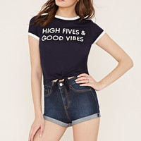 High Fives Ringer Tee