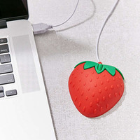 Strawberry Computer Mouse | Urban Outfitters
