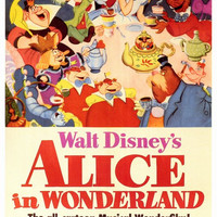 Alice in Wonderland 27x40 Movie Poster (1951)