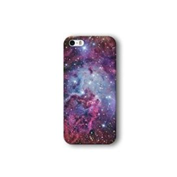 Iphone 5/5s Case, Galaxy Nebula Pattern 3d-sublimated, Mobile Accessories.