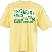 4-H Club Design » SP2352 The 4 H's Shirt