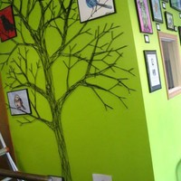 How To Make a String Tree Wall Mural Home Hacks | Apartment Therapy Re-Nest