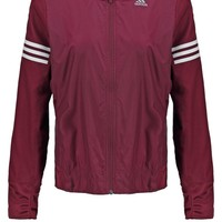 adidas Performance RESPONSE WIND - Sports jacket - maroon/white - Zalando.co.uk