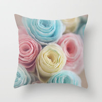 Spring into Life Throw Pillow by Beth - Paper Angels Photography | Society6