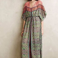 NWT ANTHROPOLOGIE by VANESSA VIRGINIA CHAMA CAFTAN MAXI DRESS S