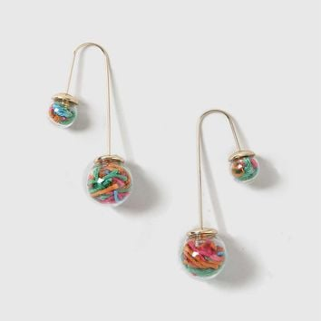 Sweets Shaker Front And Back Earrings | Topshop