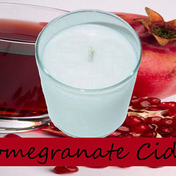 Pomegranate Cider Scented Candle in Tumbler 13 oz