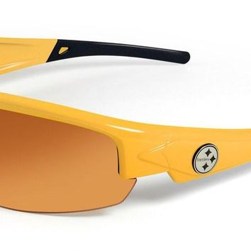 Pittsburgh Steelers Dynasty 2.0 Yellow Sunglasses