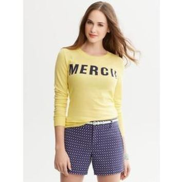 NWT Banana Republic Merci Sweater, Yellow, Size Medium