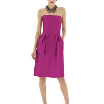 Alfred Sung by Dessy Bridesmaid Dress D614