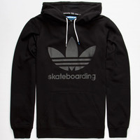 Adidas Adv Mens Hoodie Black  In Sizes
