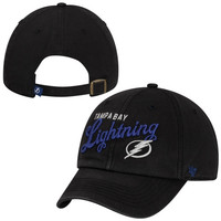 47 Brand Tampa Bay Lightning Ladies Audrey Graphic Clean-Up Adjustable Hat - Navy Blue