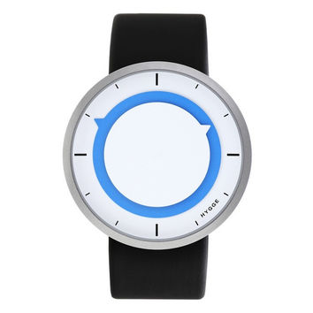 Hygge Watches — 3012 Series White & Blue Face Watch