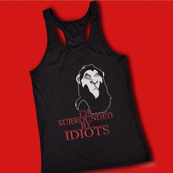 Scar The Lion King Surrounded By Idiots Women'S Tank Top