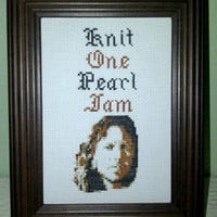 "Pattern - ""Knit One, Pearl Jam"""
