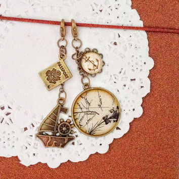 A Set of Planner Charm, Midori Traveler's Notebook Charm