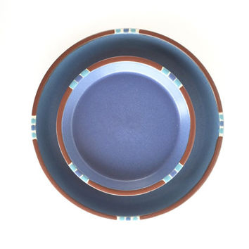 Vintage Dansk Mesa Blue Salad and Dinner Plate