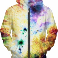 Galactic Tie Die [NGC-2264] | Universe Galaxy Nebula Star Clothes | Rave & Festival Shirt