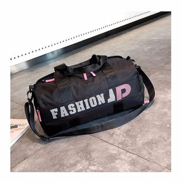 Sports gym bag New Waterproof Men Sports Gym Bags New Yoga Fitness Bag Women Travel Handbag Training Duffle Bag sac de sport KO_5_1