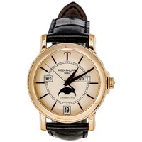 Patek Philippe Tiffany & Co. rose gold T150 Moonphase automatic Wristwatch