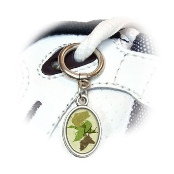 Hunting Fishing Design - Hunter Deer Duck Bass Trout Camo Shoe Charm