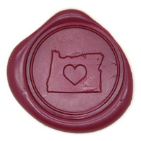 Heart your State Wax Seal Stamp