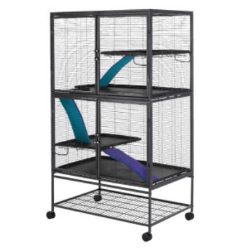 All Living Things® Multi-Level Small Animal Cage