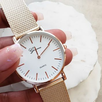 Woven Strap Watch
