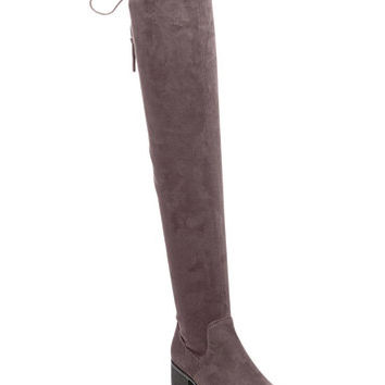 Madden Girl Prissley Over-The-Knee Tassel Stretch Boots | macys.com