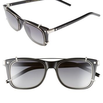 MARC JACOBS 51mm Retro Clip-On Sunglasses | Nordstrom