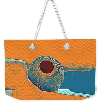 Santorini Greek Island Caldera, Greece 8 - Weekender Tote Bag