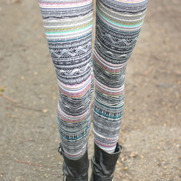 Love Line Printed Leggings