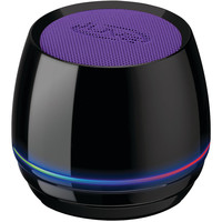 Ilive Bluetooth Speaker With Glow Ring (purple)