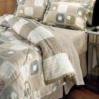 Gemstone 8 Pc Complete King Bedding Set Comforter Shams Sheets Bedroom Decor