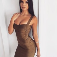 Kourtney- Bandage Bodycon Mini Dress