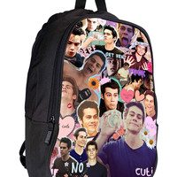 Teen Wolf - Dylan O brien collage SUGUSCASE 1a3d3cf5-5854-4d54-be95-480343d84037 for Backpack / Custom Bag / School Bag / Children Bag / Custom School Bag *02*