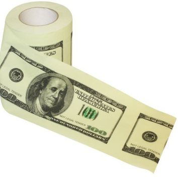 Money Toilet Roll - Dollar Bill Toilet Paper