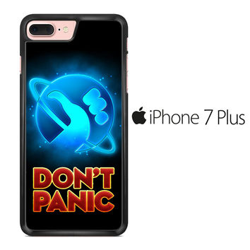 Hitchhiker's Guide To The Galaxy Dont Panic iPhone 7 Plus Case