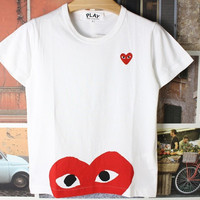 Couple T-shirts Bottoming Shirt [11545340751]