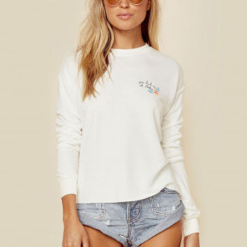 YOU HAD ME AT ALOHA CROP SWEATSHIRT