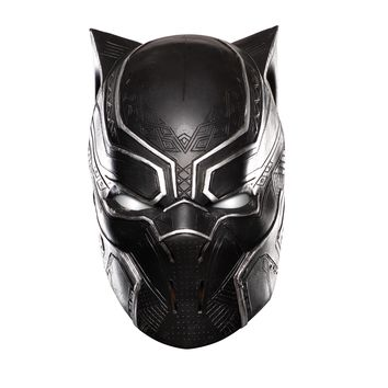 Rubies Costume Captain America Civil War Kids Black Panther Full Vinyl Mask
