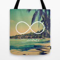 Forever Summer Vintage Tote Bag by RexLambo
