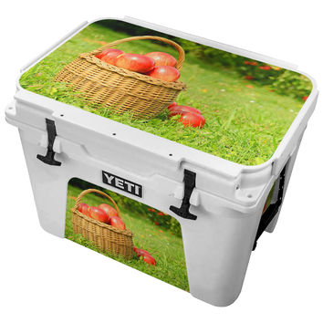 Basket of Red Apples Skin for the Yeti Tundra Cooler