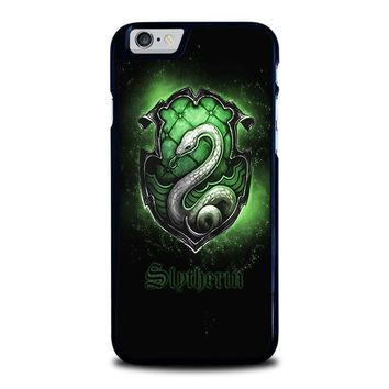 slytherin logo iphone 6 6s case cover  number 1