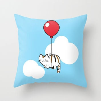 Adventure! Throw Pillow by Tyler Wise