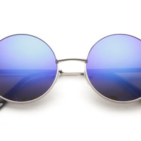 Elton Medium Round Vintage Sunglasses