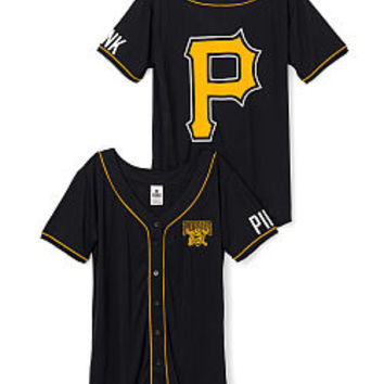 Pittsburgh Pirates Mesh Jersey - PINK - Victoria's Secret
