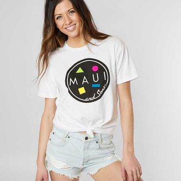 MAUI & SONS LOGO T-SHIRT
