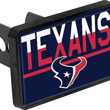 ONETOW Houston Texans Color Duo Tone Universal HITCH Bumper Trailer Auto Cover Football
